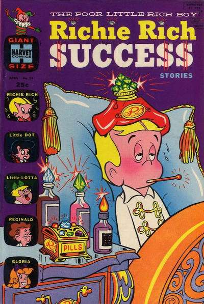 Richie Rich Success Stories #31 Comic Books - Covers, Scans, Photos  in Richie Rich Success Stories Comic Books - Covers, Scans, Gallery