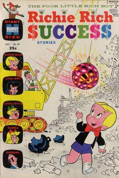 Richie Rich Success Stories #34 Comic Books - Covers, Scans, Photos  in Richie Rich Success Stories Comic Books - Covers, Scans, Gallery
