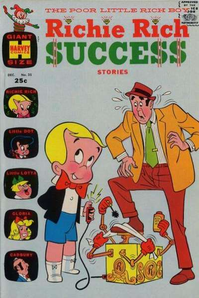 Richie Rich Success Stories #35 Comic Books - Covers, Scans, Photos  in Richie Rich Success Stories Comic Books - Covers, Scans, Gallery