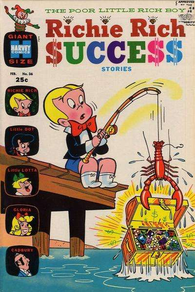 Richie Rich Success Stories #36 Comic Books - Covers, Scans, Photos  in Richie Rich Success Stories Comic Books - Covers, Scans, Gallery