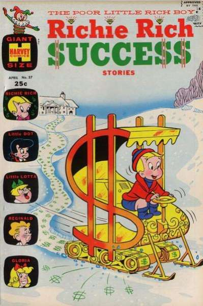 Richie Rich Success Stories #37 Comic Books - Covers, Scans, Photos  in Richie Rich Success Stories Comic Books - Covers, Scans, Gallery