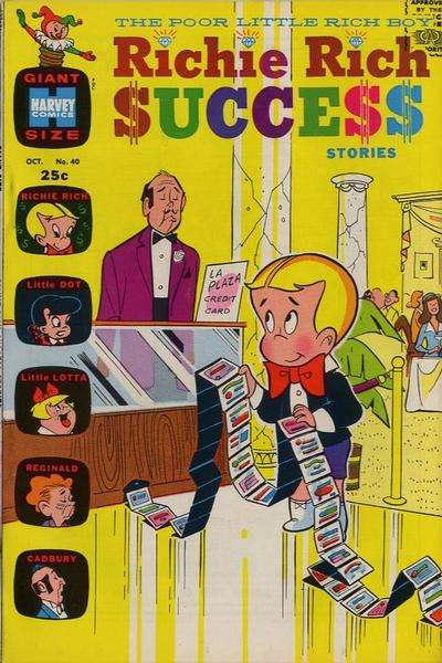 Richie Rich Success Stories #40 Comic Books - Covers, Scans, Photos  in Richie Rich Success Stories Comic Books - Covers, Scans, Gallery