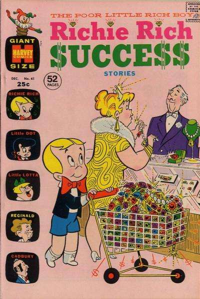 Richie Rich Success Stories #41 Comic Books - Covers, Scans, Photos  in Richie Rich Success Stories Comic Books - Covers, Scans, Gallery