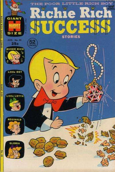 Richie Rich Success Stories #45 comic books for sale