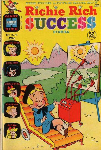 Richie Rich Success Stories #46 Comic Books - Covers, Scans, Photos  in Richie Rich Success Stories Comic Books - Covers, Scans, Gallery