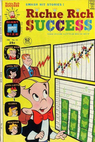 Richie Rich Success Stories #54 comic books for sale