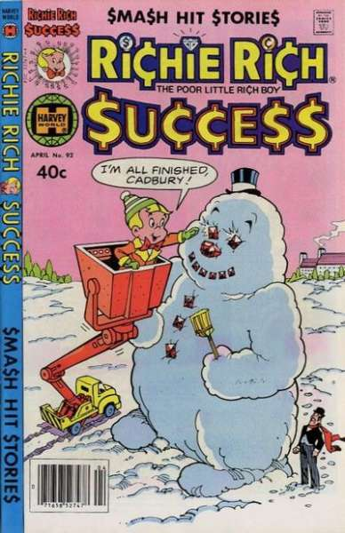 Richie Rich Success Stories #92 Comic Books - Covers, Scans, Photos  in Richie Rich Success Stories Comic Books - Covers, Scans, Gallery