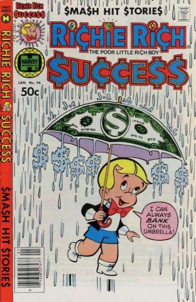 Richie Rich Success Stories #96 comic books for sale