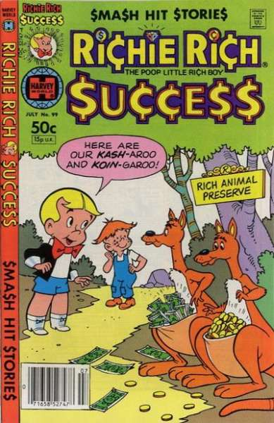 Richie Rich Success Stories #99 Comic Books - Covers, Scans, Photos  in Richie Rich Success Stories Comic Books - Covers, Scans, Gallery