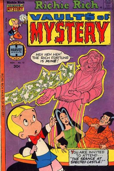 Richie Rich Vault of Mystery #13 Comic Books - Covers, Scans, Photos  in Richie Rich Vault of Mystery Comic Books - Covers, Scans, Gallery