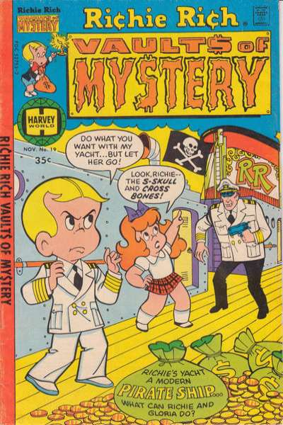 Richie Rich Vault of Mystery #19 Comic Books - Covers, Scans, Photos  in Richie Rich Vault of Mystery Comic Books - Covers, Scans, Gallery