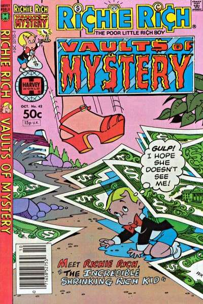 Richie Rich Vault of Mystery #42 Comic Books - Covers, Scans, Photos  in Richie Rich Vault of Mystery Comic Books - Covers, Scans, Gallery