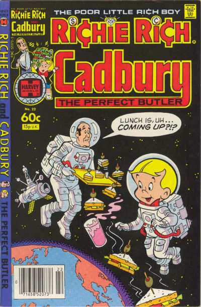 Richie Rich and Cadbury #22 Comic Books - Covers, Scans, Photos  in Richie Rich and Cadbury Comic Books - Covers, Scans, Gallery