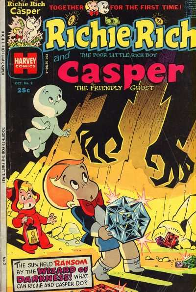 Richie Rich and Casper #2 Comic Books - Covers, Scans, Photos  in Richie Rich and Casper Comic Books - Covers, Scans, Gallery