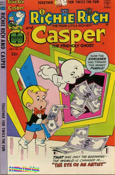 Richie Rich and Casper #24 comic books for sale