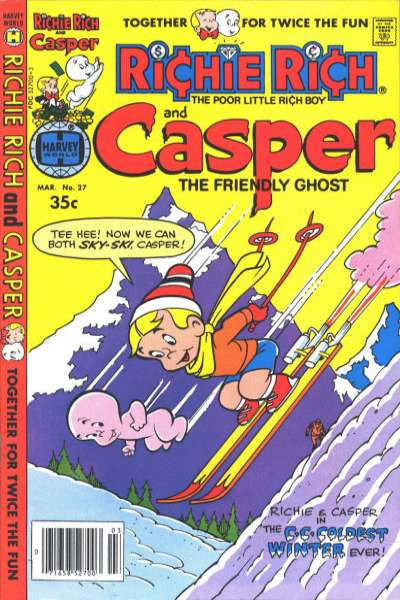 Richie Rich and Casper #27 Comic Books - Covers, Scans, Photos  in Richie Rich and Casper Comic Books - Covers, Scans, Gallery