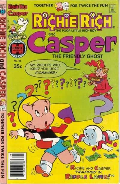 Richie Rich and Casper #28 Comic Books - Covers, Scans, Photos  in Richie Rich and Casper Comic Books - Covers, Scans, Gallery