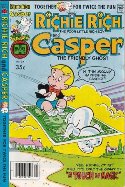 Richie Rich and Casper #29 Comic Books - Covers, Scans, Photos  in Richie Rich and Casper Comic Books - Covers, Scans, Gallery