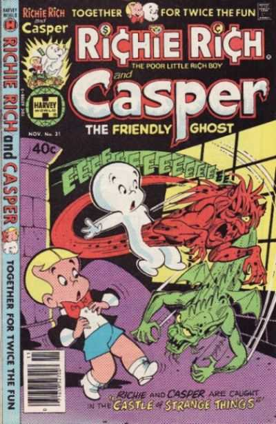 Richie Rich and Casper #31 Comic Books - Covers, Scans, Photos  in Richie Rich and Casper Comic Books - Covers, Scans, Gallery