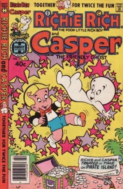 Richie Rich and Casper #32 Comic Books - Covers, Scans, Photos  in Richie Rich and Casper Comic Books - Covers, Scans, Gallery
