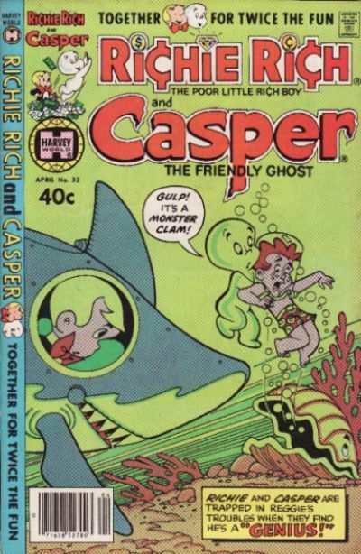 Richie Rich and Casper #33 Comic Books - Covers, Scans, Photos  in Richie Rich and Casper Comic Books - Covers, Scans, Gallery