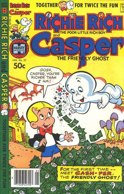 Richie Rich and Casper #37 comic books for sale