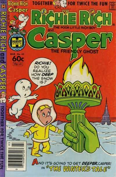 Richie Rich and Casper #43 Comic Books - Covers, Scans, Photos  in Richie Rich and Casper Comic Books - Covers, Scans, Gallery