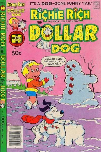 Richie Rich and Dollar the Dog #17 Comic Books - Covers, Scans, Photos  in Richie Rich and Dollar the Dog Comic Books - Covers, Scans, Gallery