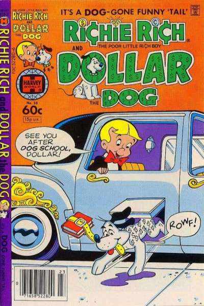 Richie Rich and Dollar the Dog #23 comic books for sale