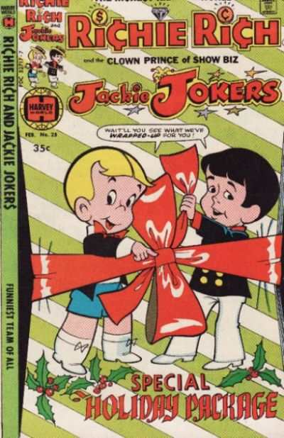 Richie Rich and Jackie Jokers #25 Comic Books - Covers, Scans, Photos  in Richie Rich and Jackie Jokers Comic Books - Covers, Scans, Gallery