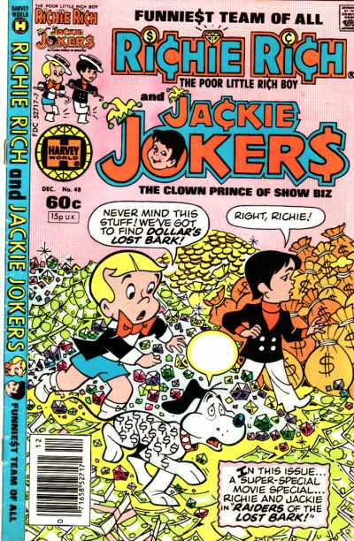 Richie Rich and Jackie Jokers #48 Comic Books - Covers, Scans, Photos  in Richie Rich and Jackie Jokers Comic Books - Covers, Scans, Gallery