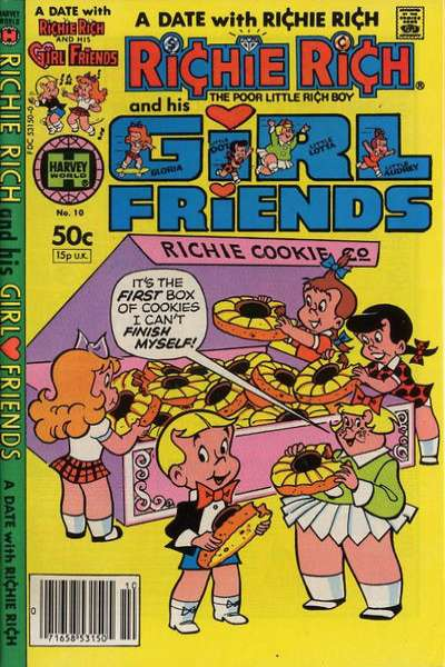 Richie Rich and his Girlfriends #10 Comic Books - Covers, Scans, Photos  in Richie Rich and his Girlfriends Comic Books - Covers, Scans, Gallery