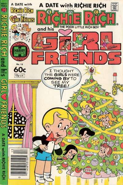 Richie Rich and his Girlfriends #13 Comic Books - Covers, Scans, Photos  in Richie Rich and his Girlfriends Comic Books - Covers, Scans, Gallery