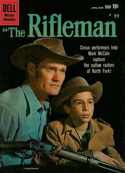 Rifleman #3 Comic Books - Covers, Scans, Photos  in Rifleman Comic Books - Covers, Scans, Gallery