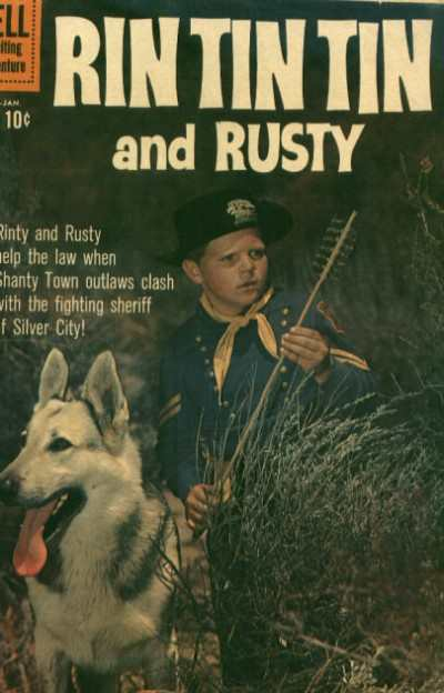 Rin Tin Tin #36 comic books - cover scans photos Rin Tin Tin #36 comic books - covers, picture gallery