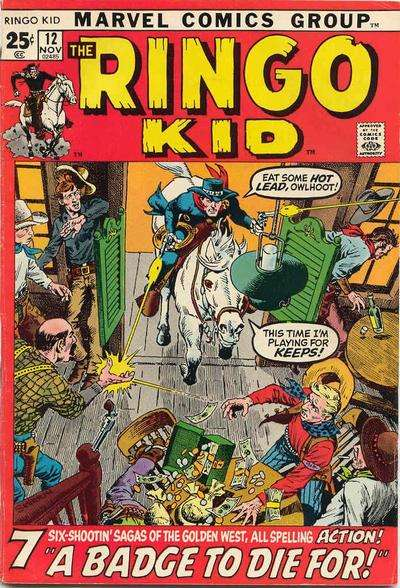 Ringo Kid #12 Comic Books - Covers, Scans, Photos  in Ringo Kid Comic Books - Covers, Scans, Gallery