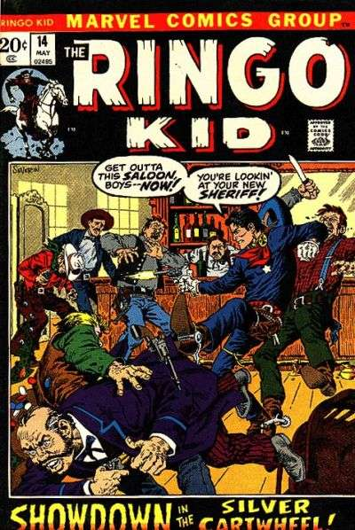 Ringo Kid #14 comic books - cover scans photos Ringo Kid #14 comic books - covers, picture gallery