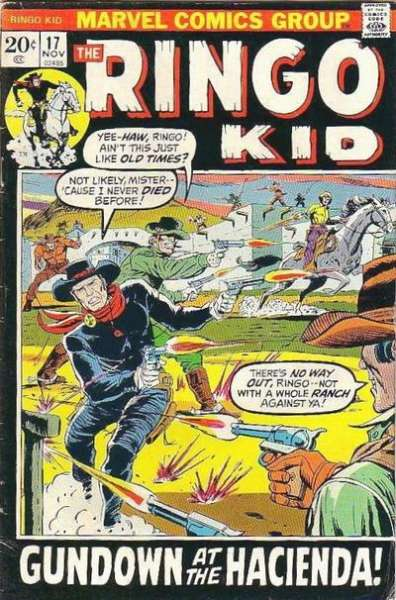 Ringo Kid #17 comic books - cover scans photos Ringo Kid #17 comic books - covers, picture gallery