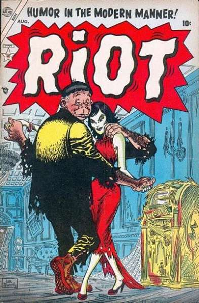 Riot #3 Comic Books - Covers, Scans, Photos  in Riot Comic Books - Covers, Scans, Gallery