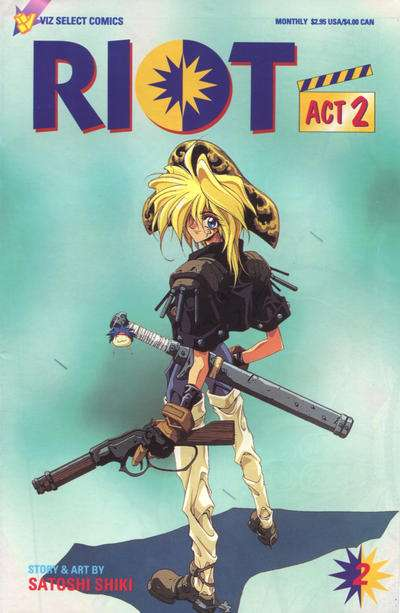 Riot: Act 2 #2 comic books for sale