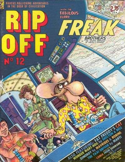 Rip Off Comix #12 comic books for sale