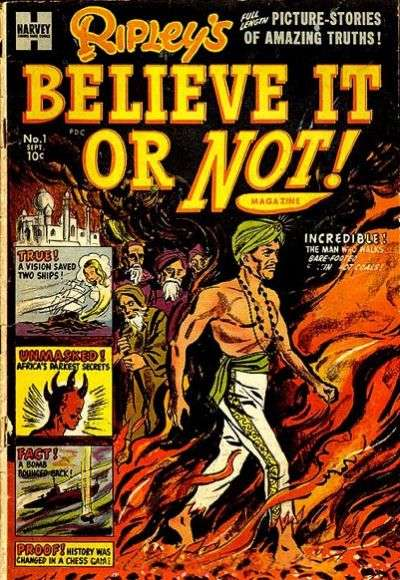 Ripley's Believe It or Not! Comic Books. Ripley's Believe It or Not! Comics.