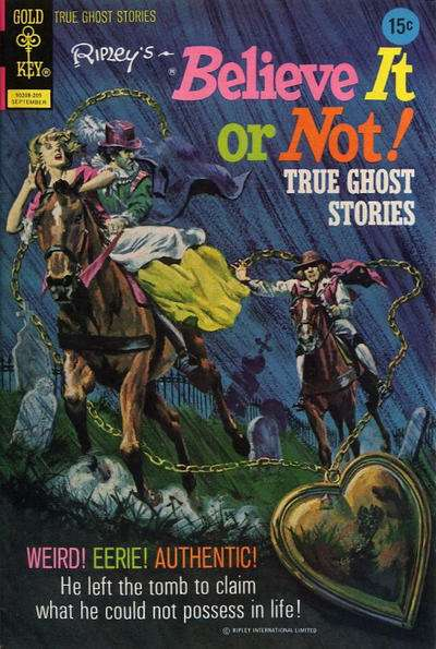 Ripley's Believe It or Not! #35 Comic Books - Covers, Scans, Photos  in Ripley's Believe It or Not! Comic Books - Covers, Scans, Gallery