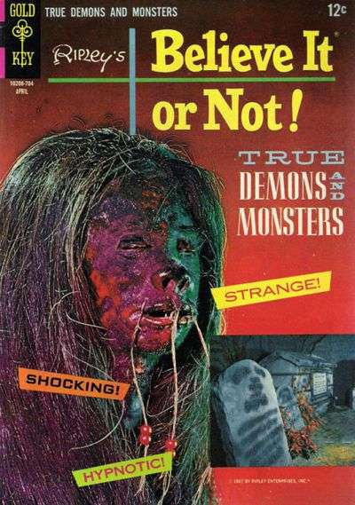 Ripley's Believe It or Not! #4 comic books - cover scans photos Ripley's Believe It or Not! #4 comic books - covers, picture gallery
