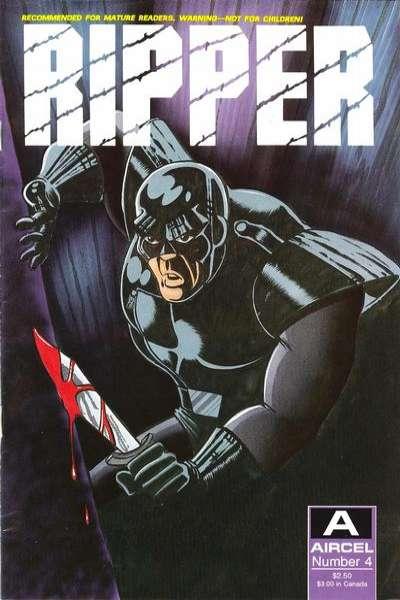 Ripper #4 comic books for sale