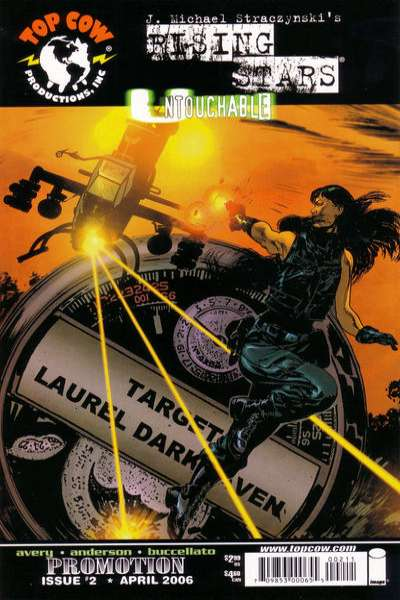 Rising Stars: Untouchable #2 comic books for sale