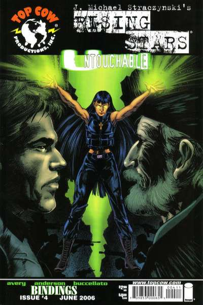 Rising Stars: Untouchable #4 comic books for sale