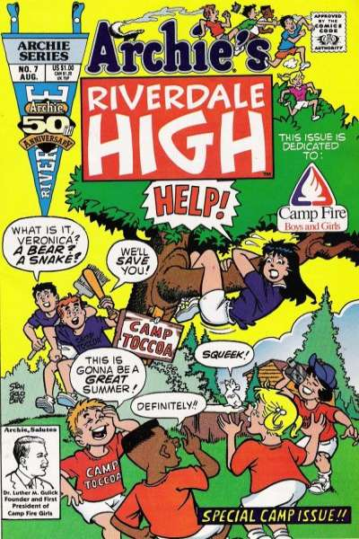 Riverdale High #7 Comic Books - Covers, Scans, Photos  in Riverdale High Comic Books - Covers, Scans, Gallery