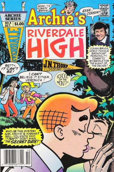 Riverdale High #8 comic books - cover scans photos Riverdale High #8 comic books - covers, picture gallery