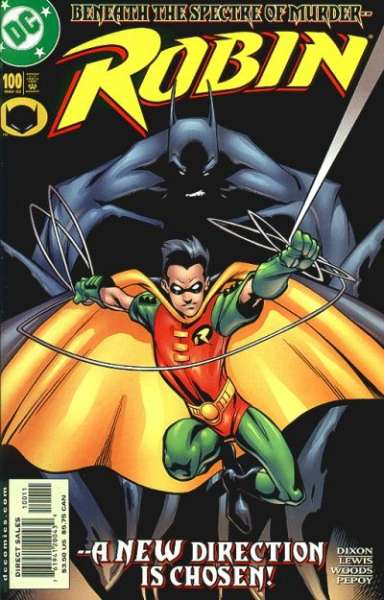 Robin #100 Comic Books - Covers, Scans, Photos  in Robin Comic Books - Covers, Scans, Gallery